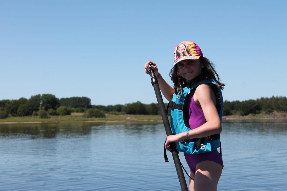 pagaie paddle enfant